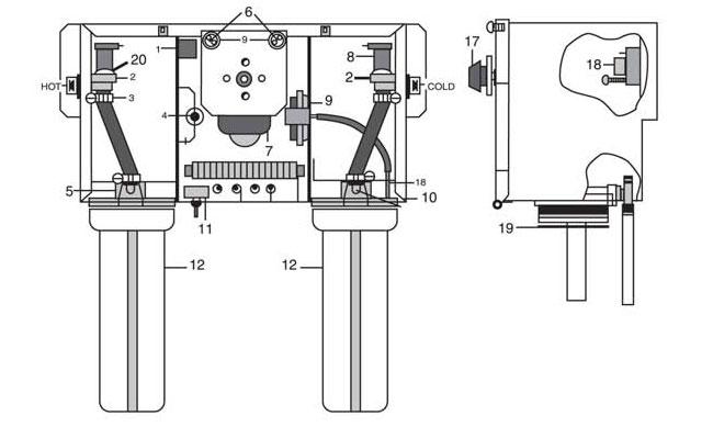 bender 8500 repair parts