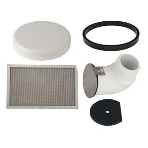 Pvc Pre Air Filter Parts Vacuum Balance Tanks Vacuum