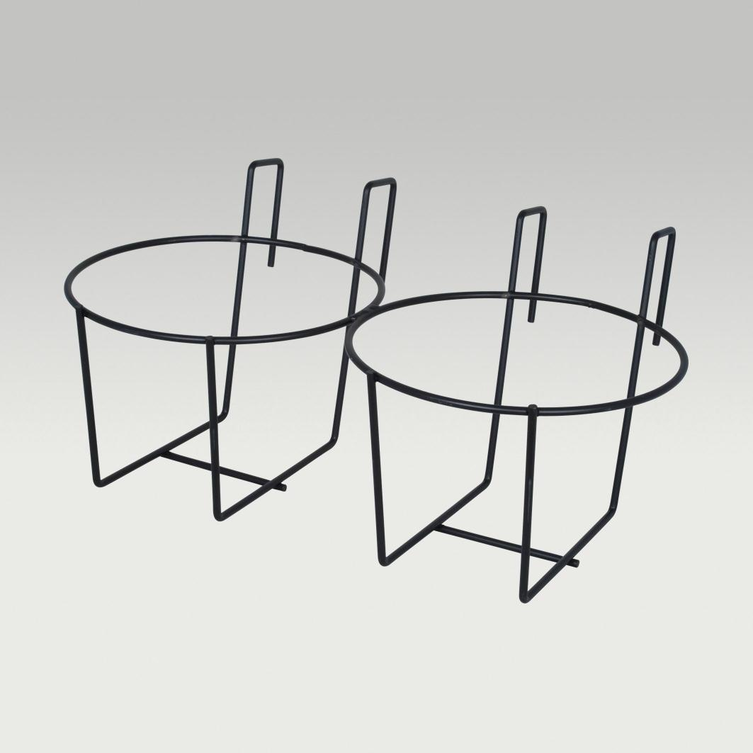 Calf Pail Holder Double Animal Care Feed Equipment